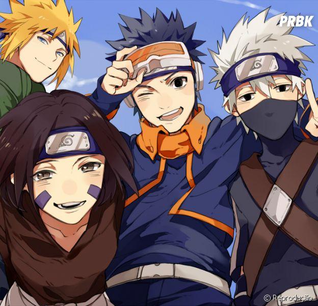 """No game """"Naruto Shippuden"""", Rin Nohara, Kakashi e Obito jovens serão personagens jogáveis"""