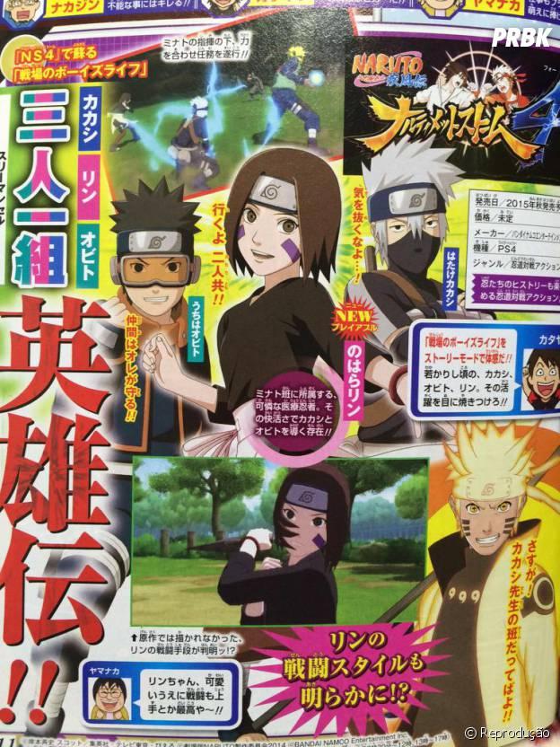 """Naruto Shippuden: Ultimate Ninja Storm 4"" vai ser lançado na primavera de 2015"