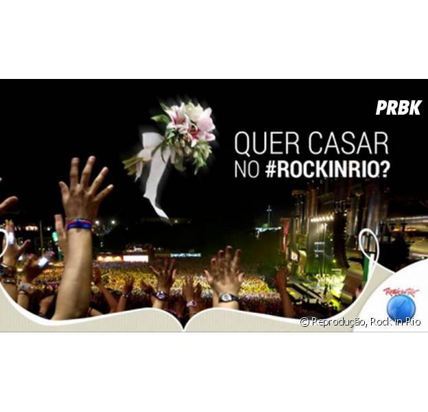 Durante o Rock in Rio 2015 serão celebrados alguns casamentos da Rock Street