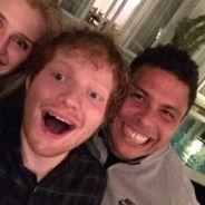 Ed Sheeran amigo de Ronaldo Fenômeno? Cantor participa de festinha na casa do ex jogador