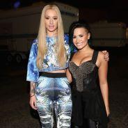 Demi Lovato e Iggy Azalea cantando juntas? Cantora confirma vontade de gravar dueto com rapper!