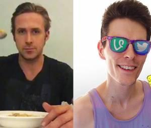 """Ryan Gosling faz homenagem a criador do """"meme do cereal"""" no Vine"""