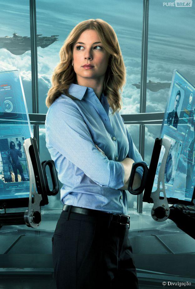 """Emily VanCamp, de """"Revenge"""", já está confirmada como a Agente 13, em """"Capitão América 3"""""""