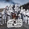 """No dia 4 de maio foi comemorado o dia de """"Star Wars"""" entre os fãs do filme!"""
