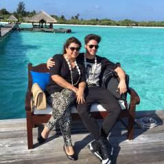 Preta Gil e Rodrigo Godoy chegam nas Ilhas Maldivas e começam lua de mel!