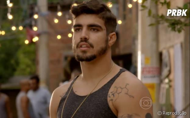 """Mesmo com pouco tempo, o Grego (Caio Castro) já tá atraindo bastante atenção em """"I Love Paraisópolis"""""""