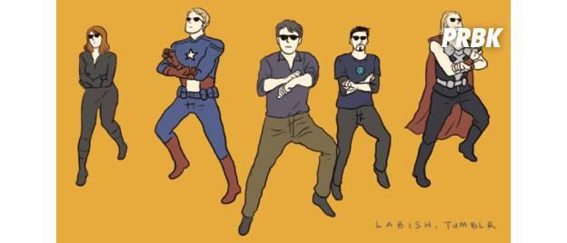 """Elenco de """"Os Vingadores"""" ganha versão chinesa super diferente"""