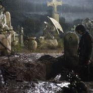 """Em """"Amorteamo"""": Malvina (Marina Ruy Barbosa) se mata e ressurge como noiva cadáver atrás de Gabriel"""
