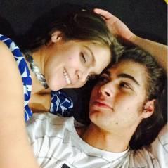 """Isabella Santoni, de """"Malhação"""", publica foto com Rafael Vitti e fãs comemoram retorno do casal!"""