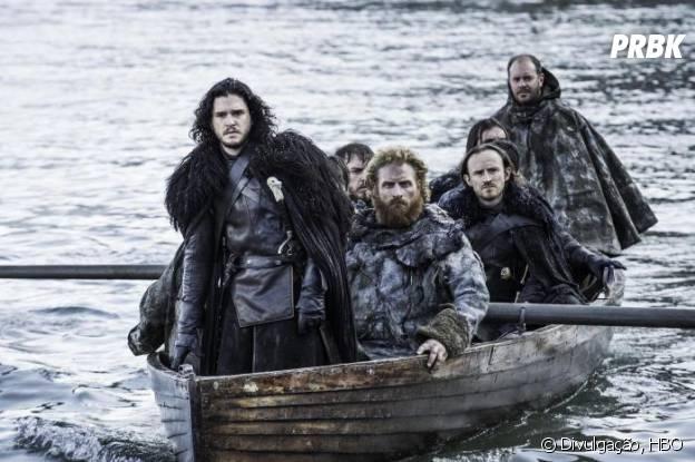 """Em """"Game of Thrones"""", Jon Snow (Kit Harington) entra em território arriscado"""