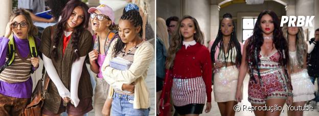 "Little Mix no clipe da música ""Black Magic"""