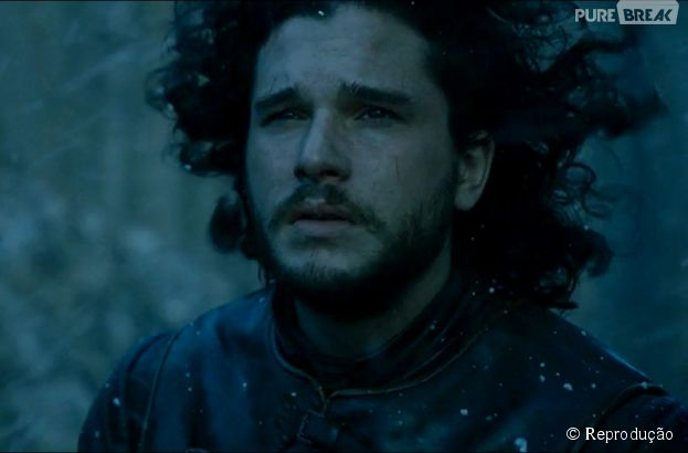 "Em ""Game of Thrones"", Jon Snow (Kit Harington) foi surpreendido pelos White Walkers"