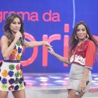 "Com Anitta e MC Guime, Sabrina Sato comemora 1 ano do ""Programa da Sabrina"" na Record"