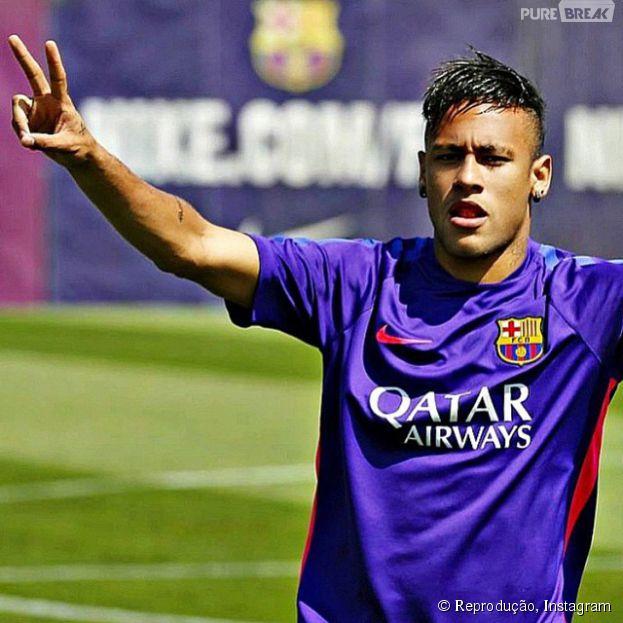Neymar Jr. está super ansioso para a final da Liga dos Campeões da Europa!