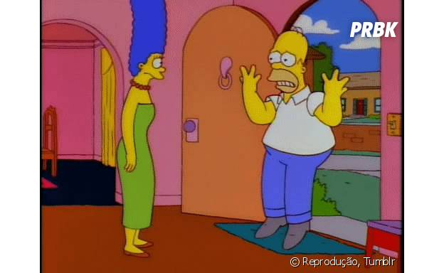 """Homer e Marge, de """"Os Simpsons"""" terão crise no casamento e vão se divorciar após anos juntos"""