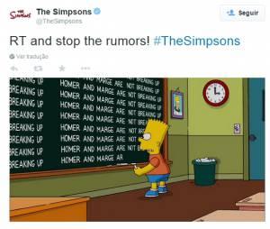 """A FOX pediu que os fãs parem de divulgar o falso divórcio de Homer e Marge em """"Os Simpsons"""""""
