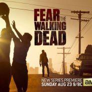 "Em ""Fear The Walking Dead"": novo pôster mostra zumbis se aproximando de jogo de basquete!"
