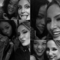 Claudia Leitte e Rihanna juntas no Rock In Rio 2015? Loira quer convite para subir no palco com Riri