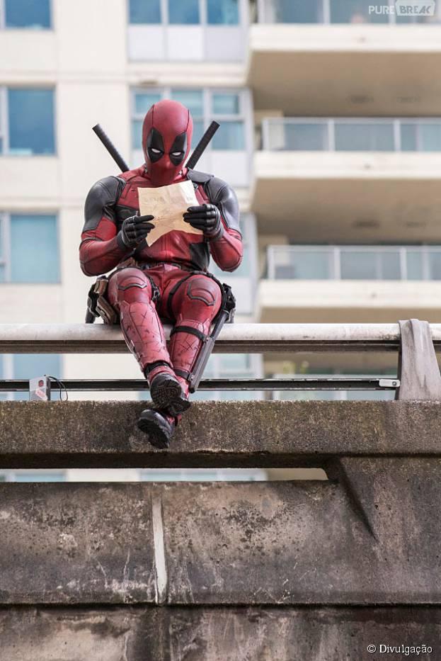 """""""Deadpool"""", com Ryan Reynolds, ganhou novas imagens incríveis"""