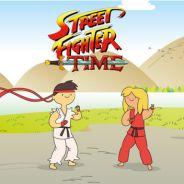 """Misturar """"Street Fighter"""" com """"Hora de Aventura"""" dá coisa boa? Veja seis evidências de que sim!"""