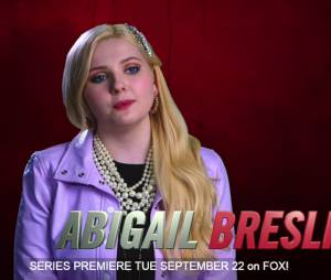 "Abigail Breslin será Chanel nº5 em ""Scream Queens"""