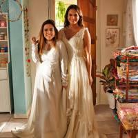 """Bruna Marquezine, de """"I Love Paraisópolis"""", vai casar? Atriz se veste de noiva para cenas da novela!"""