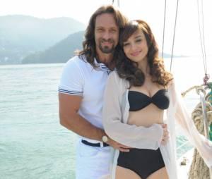 """No universo paralelo de """"Pecado Mortal"""",Carlão (Fernando Pavão) ePatrícia (Simone Spoladore) nunca teriam ficado juntos!"""