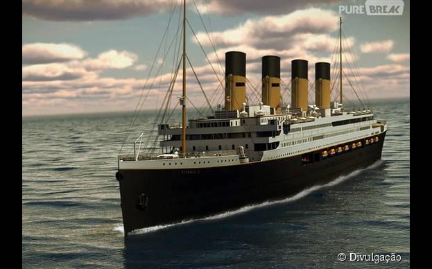 Titanic II está sendo construído na China e é um investimento do bilionário australiano Clive Palmer