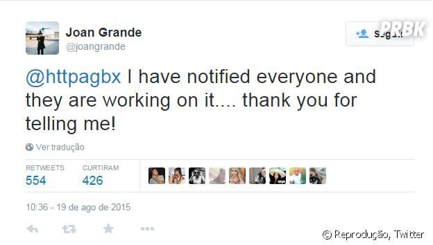 Mãe de Ariana Grande comenta com equipe da cantora sobre show no dia do ENEM