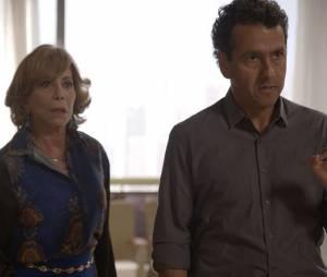 """Aderbal (Marcos Palmeira) expulsa Laís (Luisa Arraes) de casa em """"Babilônia"""""""
