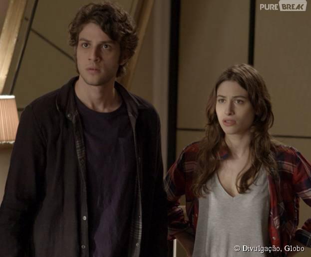 """Laís (Luisa Arraes) é expulsa de casa em """"Babilônia"""""""