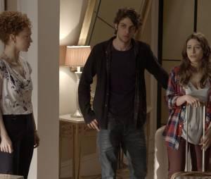 """Laís (Luisa Arraes) briga com toda a família em """"Babilônia"""""""