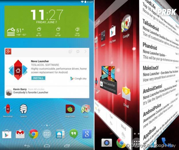 Android mais bonito: Nova Launcher