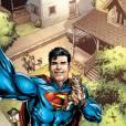 Superman fazendo aquela exibiçãozinha básica