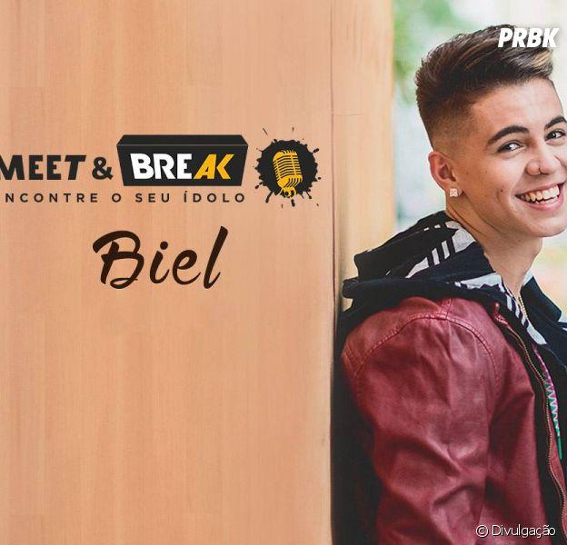 Biel é o convidado do próximo Meet & Break