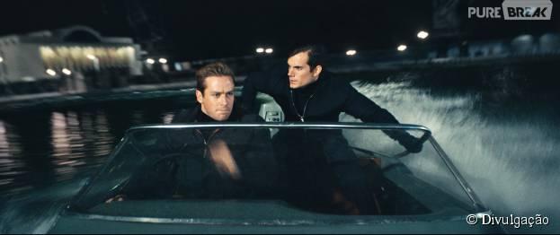 """""""O Agente da U.N.C.L.E."""" conta com Henry Cavill como protagonista"""
