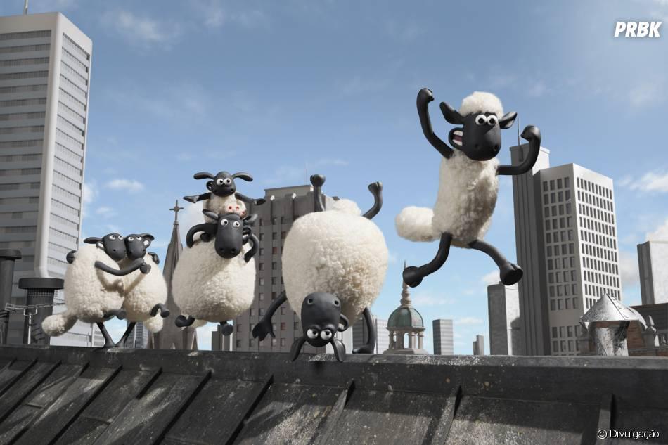 """A animação """"Shaun, O Carneiro"""" promete arrancar gargalhadas do público nas salas de cinema"""