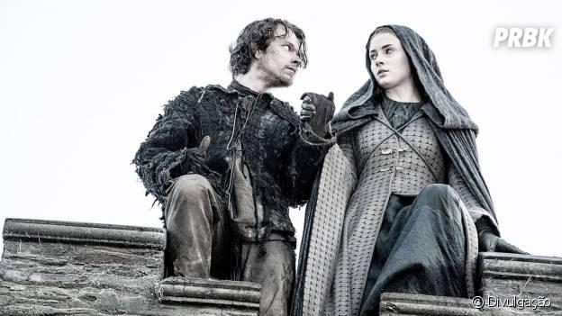 """Em """"Game of Thrones"""": será que Theon (Alfie Allen) e Sansa (Sophie Turner) estão vivos?"""