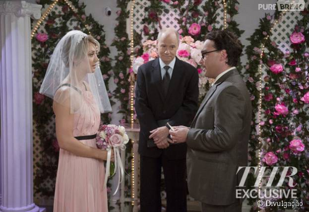 "Em ""The Big Bang Theory"": Penny (Kaley Cuoco) e Leonard (Johnny Galecki) vão se casar!"