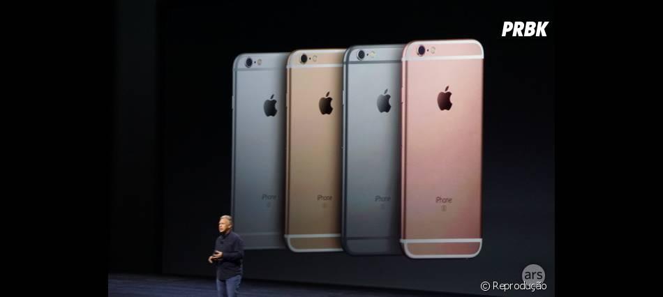 Conferência da Apple divulgou novas cores do Iphone 6S