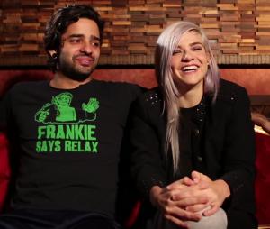 Lucas Fresno e Karen Jonz no vídeo de dia dos namorados