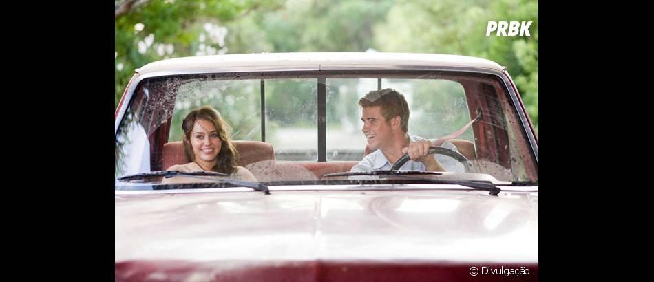 """Miley Cyrus faz muita gente chorar em """"A Última Música"""", com Liam Hemsworth. Agora só assistindo pra saber o porquê!"""