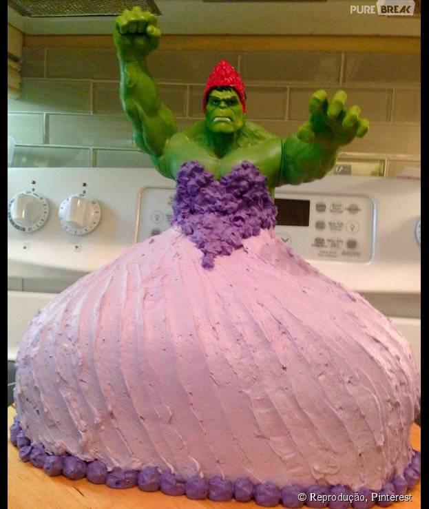 Wedding Gift For 9 Year Old Boy : Bolo da Princesa Hulk? Criancas pedem uma torta de aniversario ...