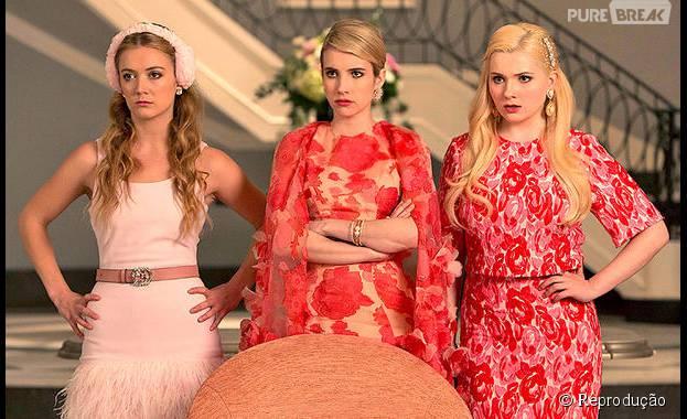 """Já deu pra perceber que """"Scream Queens"""" tem história o suficiente pra arrasar em um filme, né?"""