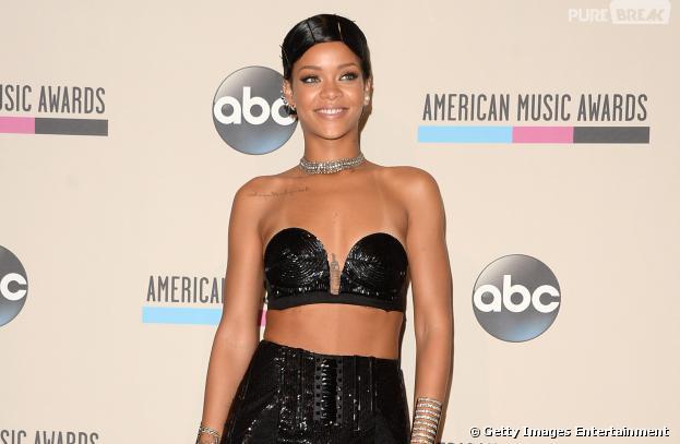Rihanna ficou em segundo lugarna lista de artistas mais pirateados de 2013