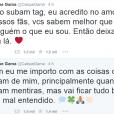 Caíque Gama faz pedido aos fãs e desabafa no Twitter