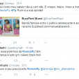 Usuários do Twitter se manifestam sobre polêmica com a banda Fly