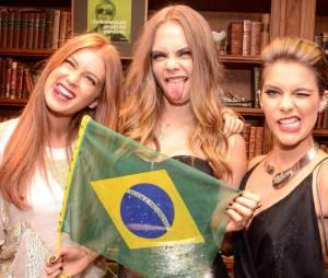 """Cara Delevingne, de """"Esquadrão Suicida"""", esteve no Brasil no último final de semana do Rock in Rio 2015"""