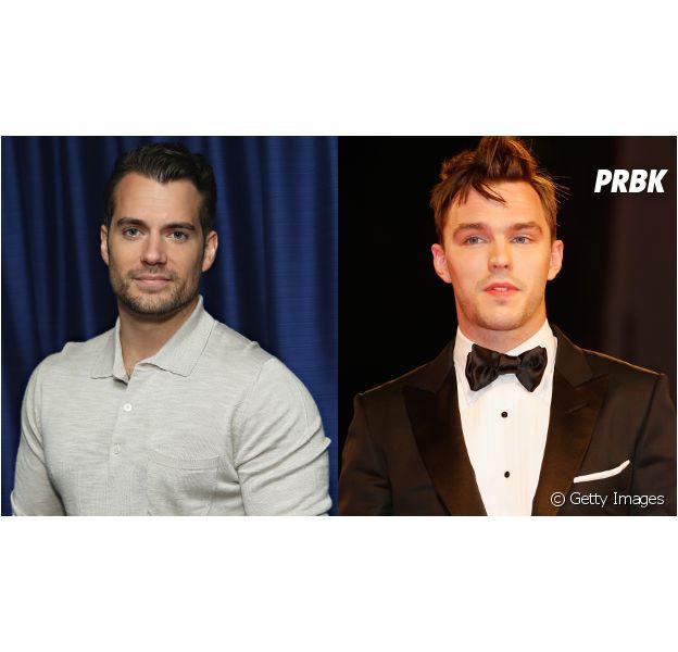 """Henry Cavill, de """"Batman Vs Superman"""", e Nicholas Hoult, de """"X-Men"""", vão atuar juntos!"""