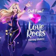 """Shakira lança """"Love Rocks"""": joguinho pra celular que vai liberar download de CDs da pop star"""